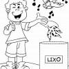 Atividades de alfabetização - Complete o desenho