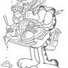 Desenhos para colorir Garfield 19