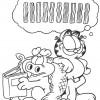 Desenhos para colorir Garfield 20
