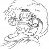 Desenhos para colorir Garfield 22