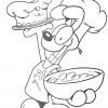 Desenhos para colorir Garfield 23