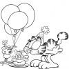 Desenhos para colorir Garfield 24
