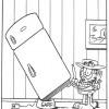 Desenhos para colorir Garfield 28