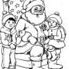 Desenho pra colorir de Natal 1