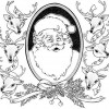 Desenho pra colorir de Natal 2
