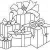 Desenho pra colorir de Natal 24