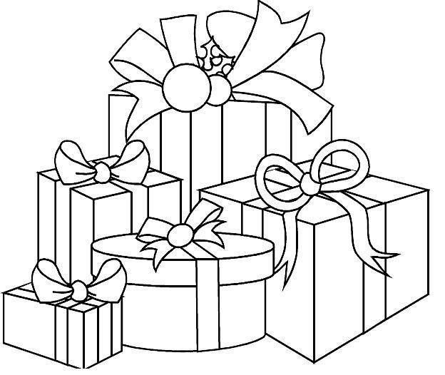 Desenhos De Natal Para Imprimir E Colorir