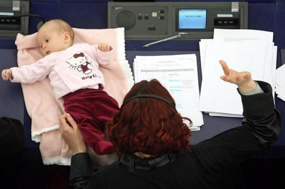 Bebê parlamentar