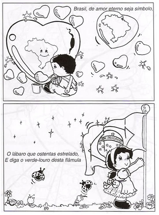 Hino Nacional Brasileiro Ilustrado - Parte 2