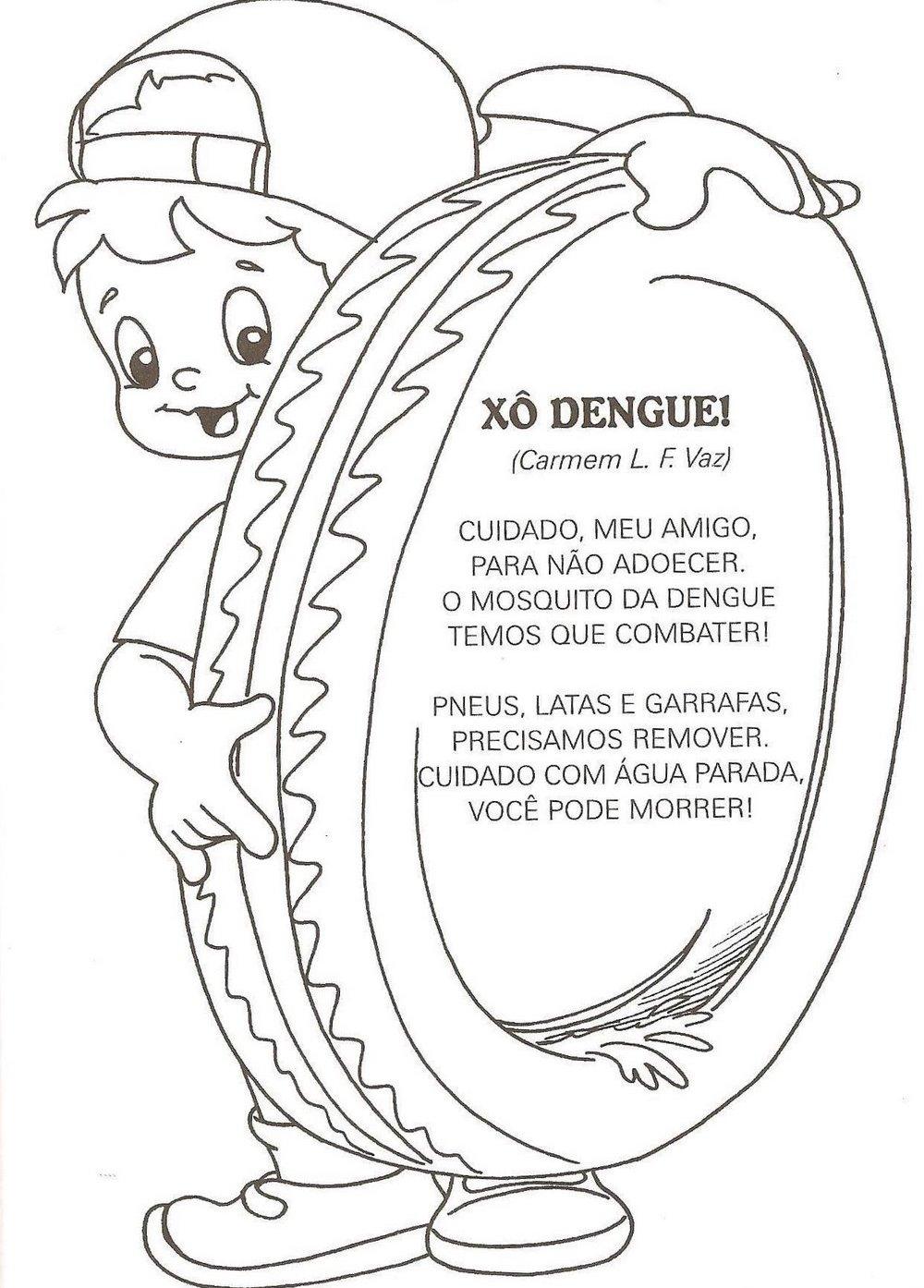 Top Mosquito da dengue: Atividades, desenhos, quadrinhos, versos e  GV77