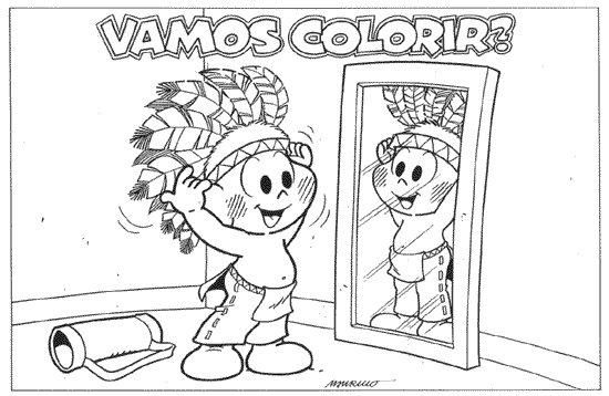 Dia Do Indio Atividades Jogos Desenhos Para Colorir Mascaras E