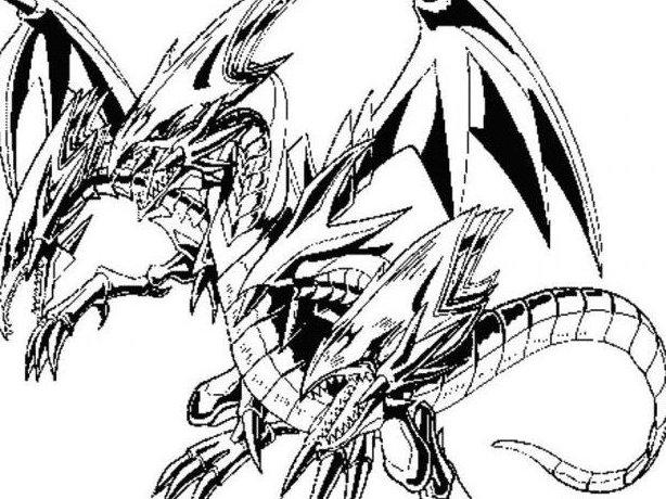 Desenhos Para Imprimir E Colorir De Yu Gi Oh