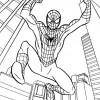 Desenhos para colorir Homem Aranha 01