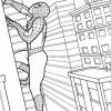 Desenhos para colorir Homem Aranha 04