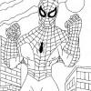 Desenhos para colorir Homem Aranha 13