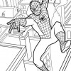 Desenhos para colorir Homem Aranha 14