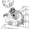 Desenhos para colorir Homem Aranha 16