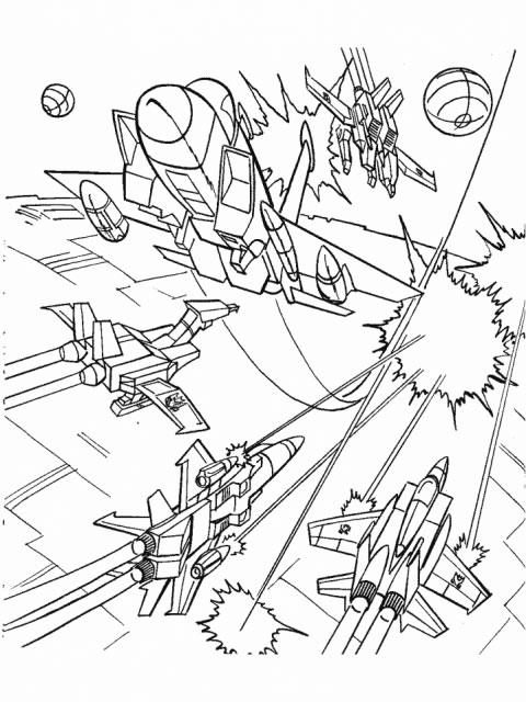 desenhos para imprimir e colorir dos transformers
