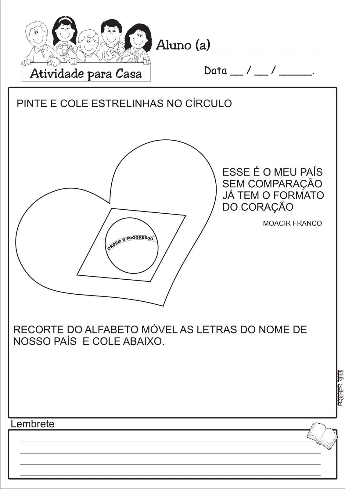Atividades Independência Do Brasil Plano De Aula 7 De Setembro