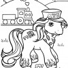 desenho-de-poney-para-colorir