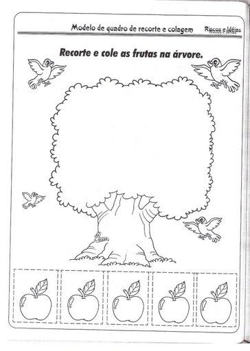 Educa    O Infantil  Atividades Para Pr   Escola Para Imprimir