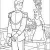 Desenho colorir Cinderela 12