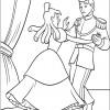 Desenho colorir Cinderela 14