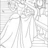 Desenho colorir Cinderela 04
