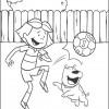Desenhos para colorir de Futebol 02