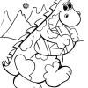Desenhos para colorir Dinossauro 006