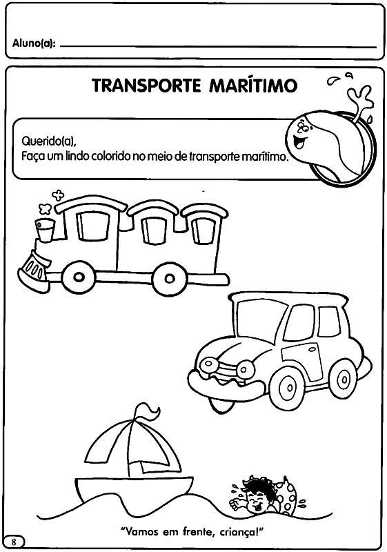 Favoritos Atividades sobre o Dia do Trânsito para o ensino infantil e  LX95