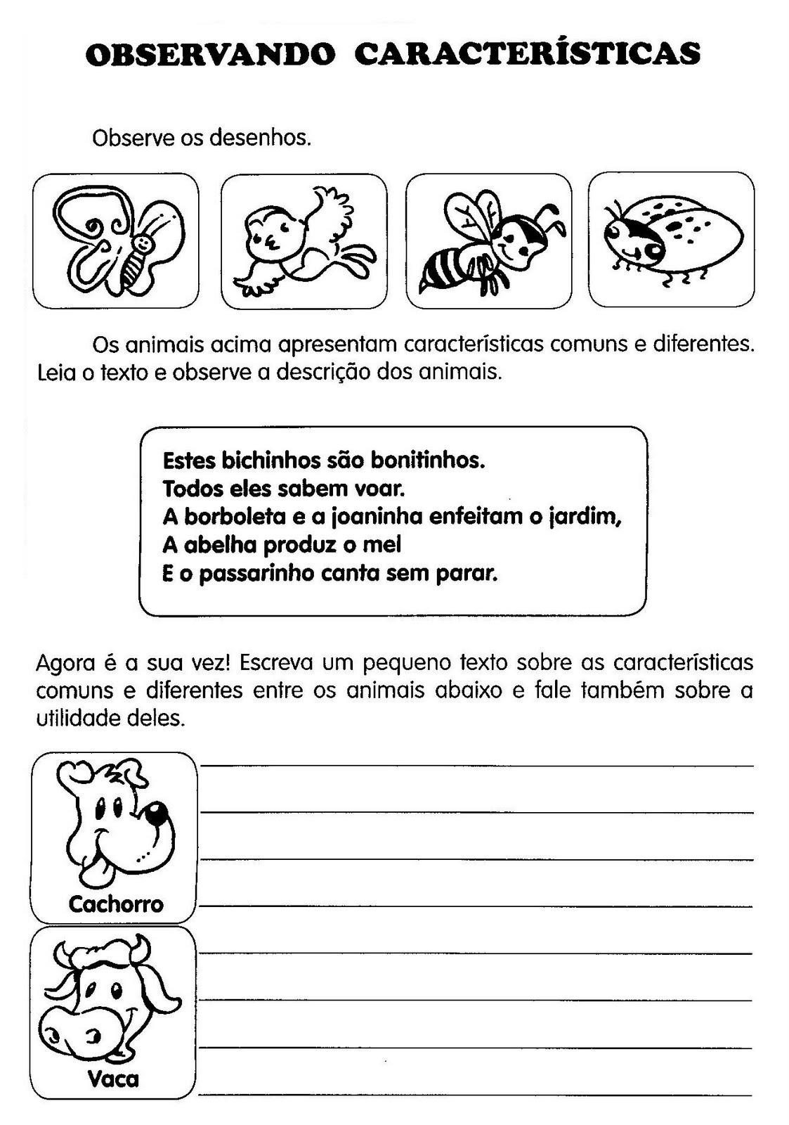 Atividades Para Produção De Texto Ensino Fundamental