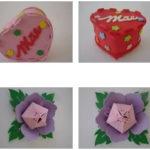 Modelos de lembranças em EVA para o Dia das Mães