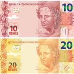 Novas cédulas de R$10 e R$20 serão lançadas até dezembro