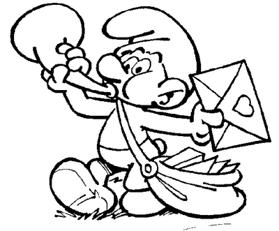Coloring Pages Smurfs - Sanfranciscolife