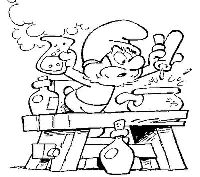 Desenhos Para Imprimir Colorir E Pintar Dos Smurfs