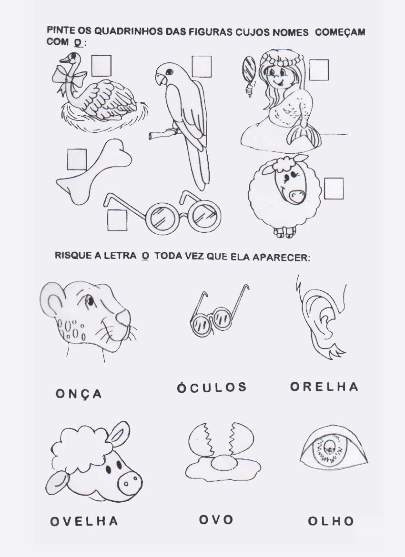 Atividades Para Alfabetiza    O     Vogais