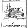 Dia do trânsito - desenhos para imprimir e colorir