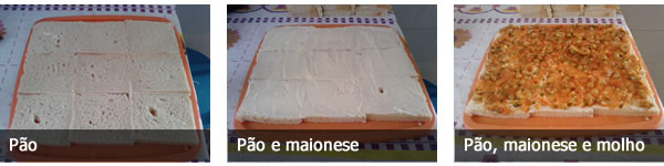 Receita de bolo salgado