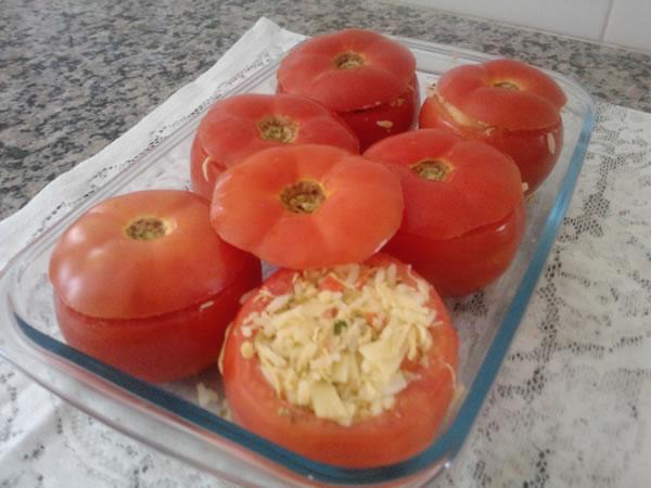 Receita de tomate recheado