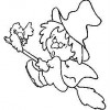 Desenho colorir Dia das Bruxas - Halloween 10