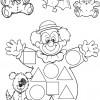 Desenho colorir de Palhaço 8