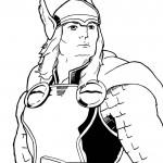 Desenhos para colorir – Thor