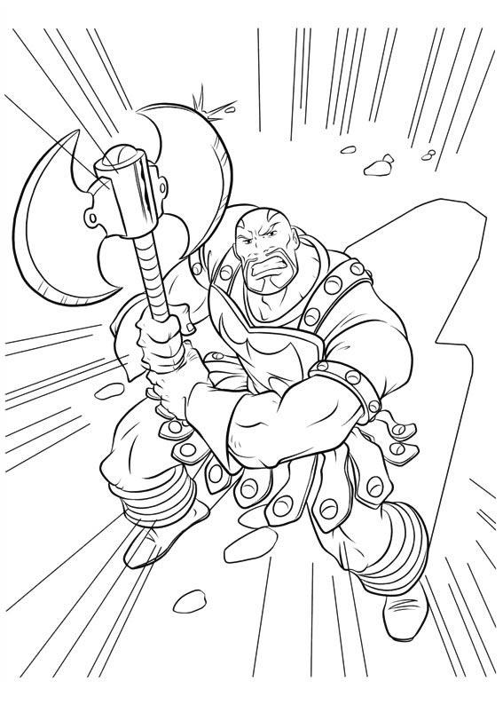 Desenhos para imprimir colorir e pintar do thor for Marvel thor coloring pages
