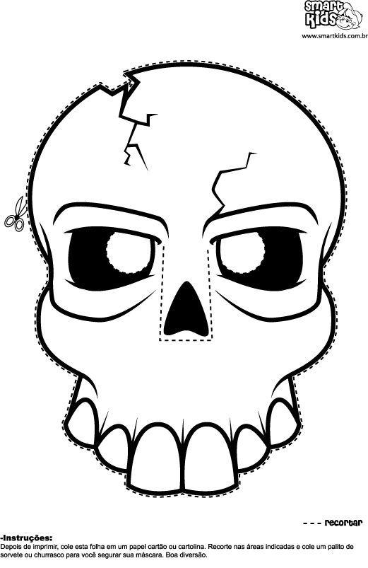Atividades Para O Dia Das Bruxas Veja Tambem Mascaras E Desenhos