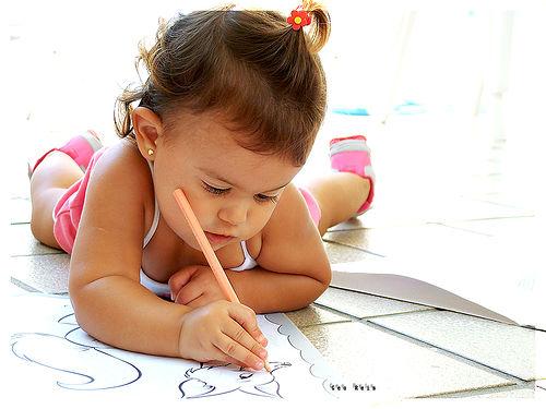 Colorir: Uma atividade importantíssima para a criança