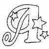Alfabeto de Natal - Letra A