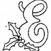 Alfabeto de Natal - Letra E