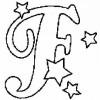 Alfabeto de Natal - Letra F