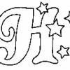 Alfabeto de Natal - Letra H
